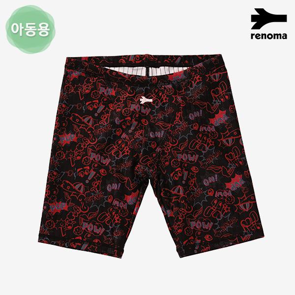 남아동 레터링 그래픽 4부 실내수영복 (택1)_RN-BS18801