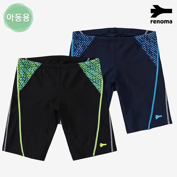 남아동 사이드 스티치 4부 실내수영복 (택1)_RN-BS18803