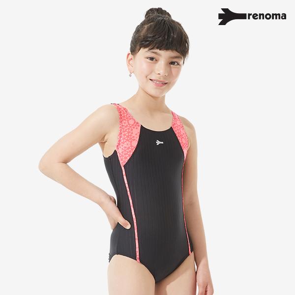 [패밀리세일] 여아동 실내 U-BACK 원피스 수영복 (택1)_RN-GS17802