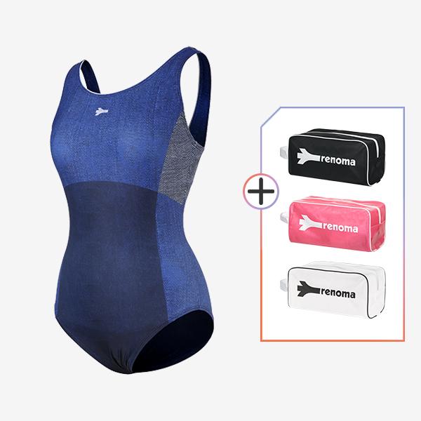 여성 실내수영복 전용가방 2종세트_LS20133SET3