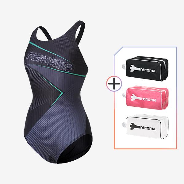 여성 실내수영복수영복 전용가방 2종세트_LS20806SET3