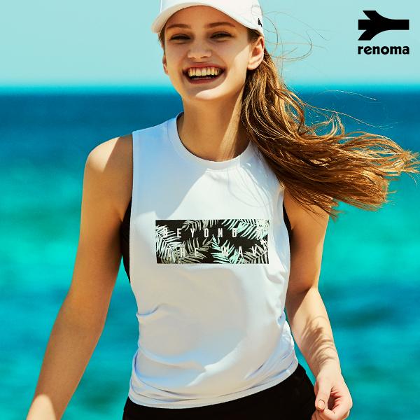 [이하늬] 여성 비치 슬리브리스 티셔츠 RN-OS18362