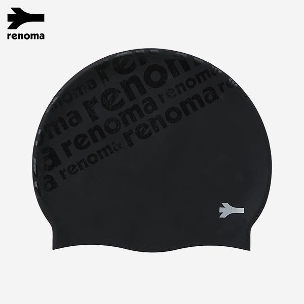 사선 레터링 실리콘 수영모자 (택1)_RO-RC18301