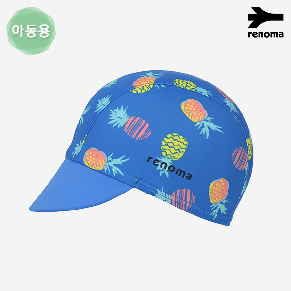 아동 파인애플 패턴 UV 스판캡 수영모자 (택1)_RO-RC18401