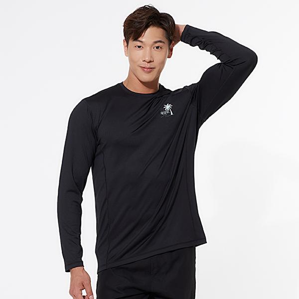 남성 비치 루즈핏 팜트리 래쉬가드 TOP_RN-TS19925UC